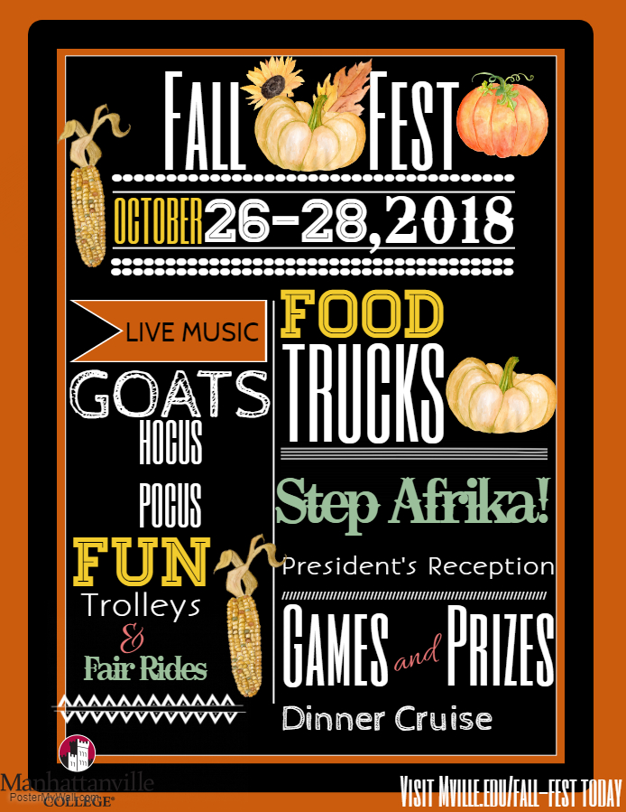 Fall fest 2018- Step Afrika!, Carnival Rides, Dinner Cruise, and more!