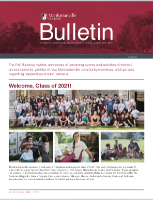 Manhattanville College's Fall 2017 Bulletin