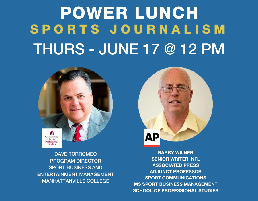 SPS Power Lunch speakers Dave Torromeo and Barry Wilner
