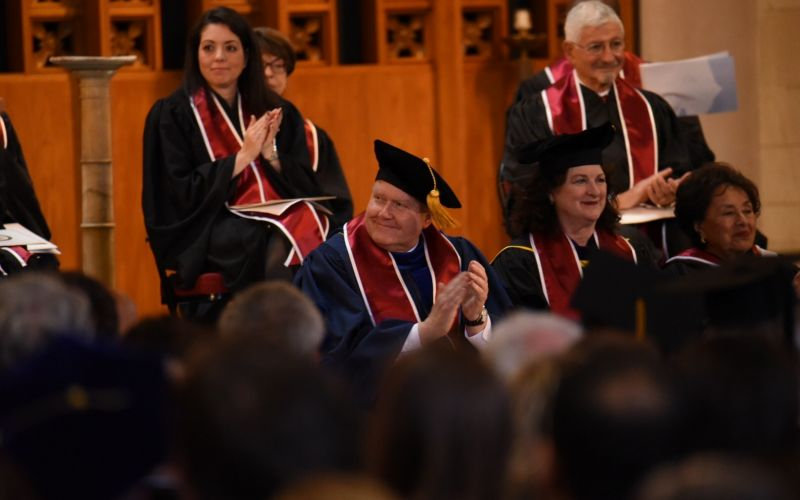 Manhattanville College celebrated the Inauguration of Michael E. Geisler as its 13th President on Sunday, October 23, 2016.