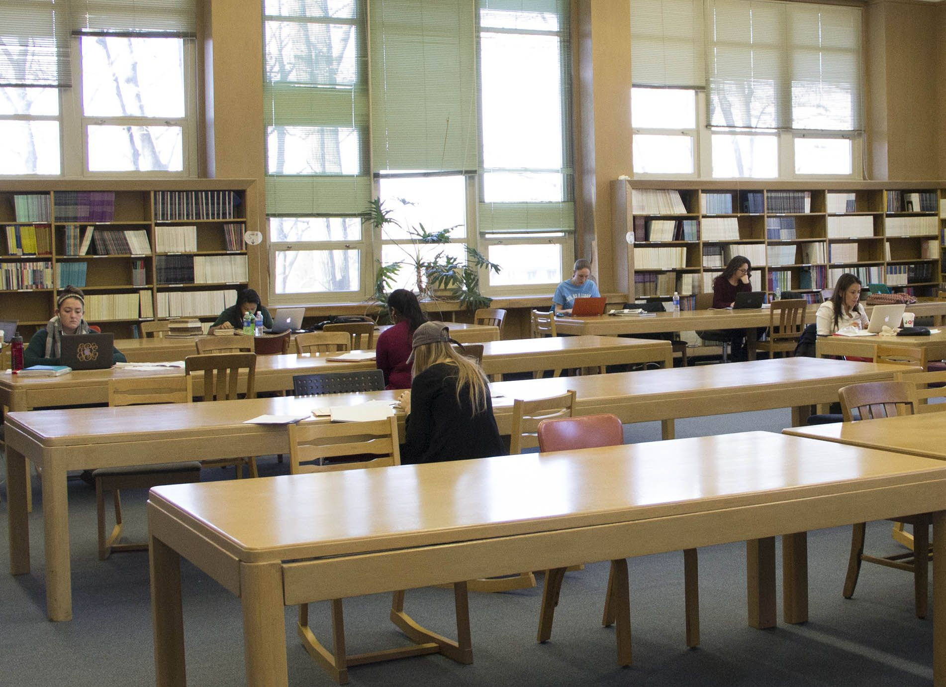 library assignments for college students