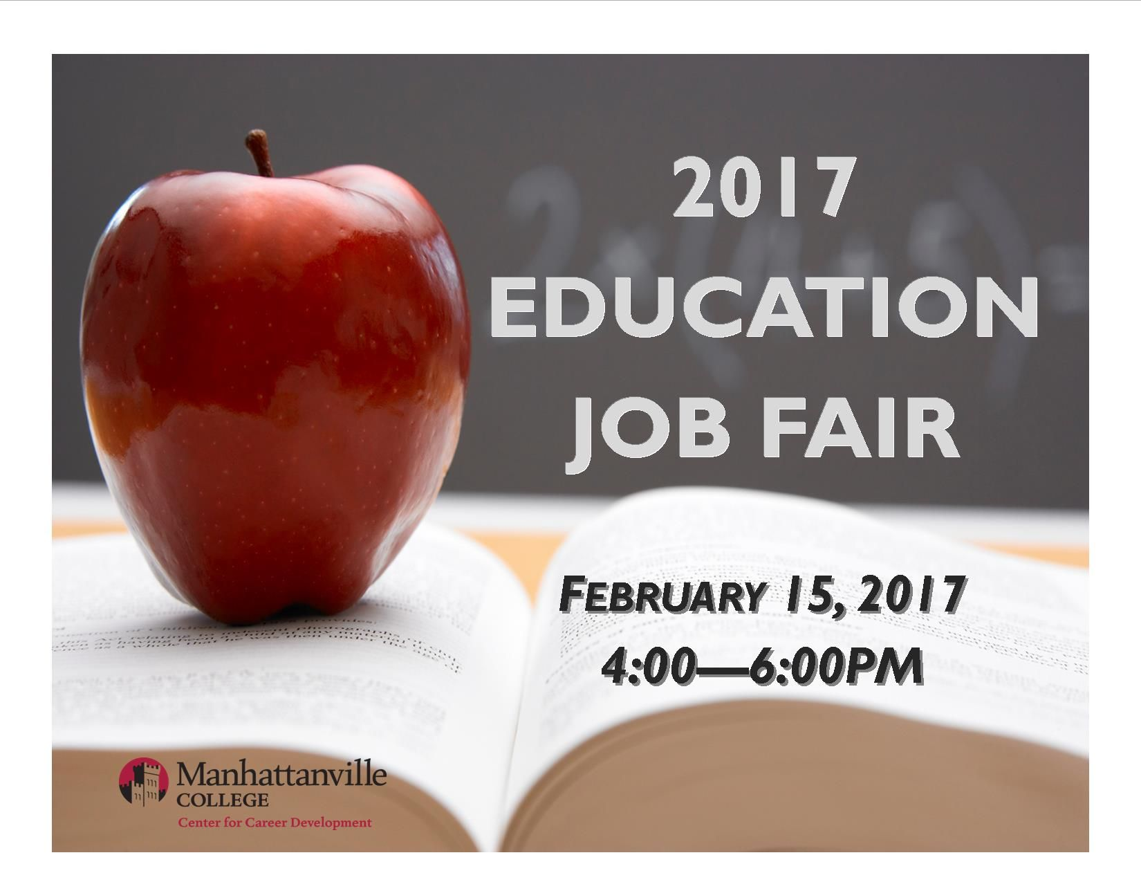 education job fair manhattanville college