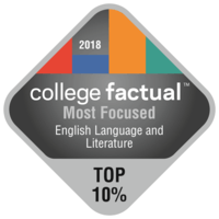 most focused english language & literature